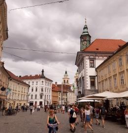 Ljubljana, el imperio austrohúngaro de Eslovenia