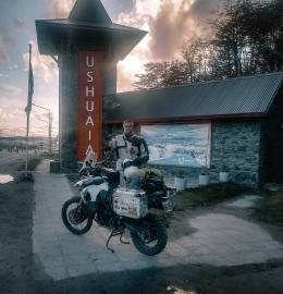 Viajando por las Rutas Argentina en Moto