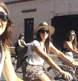 Bicicleteada por las bodegas de Maipú