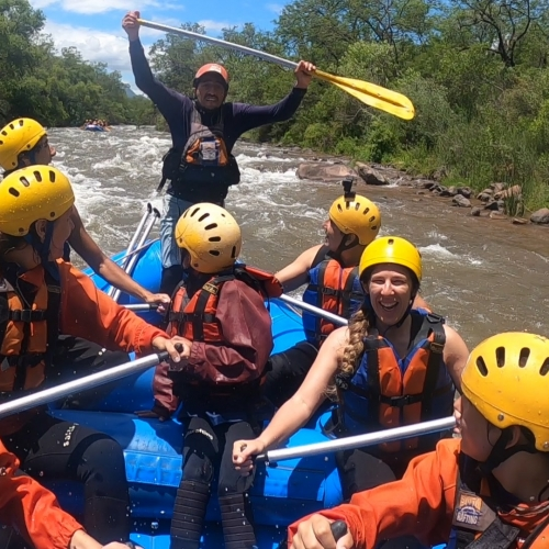 ¡Experiencia Rafting: imperdible!