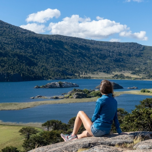 Fin de semana en Bahía Mansa, un paraíso a orillas del Lago Aluminé en Villa Pehuenia
