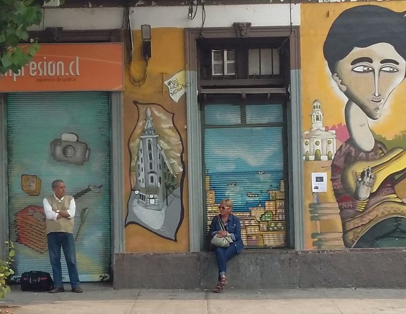 Valparaíso. la ciudad de los murales