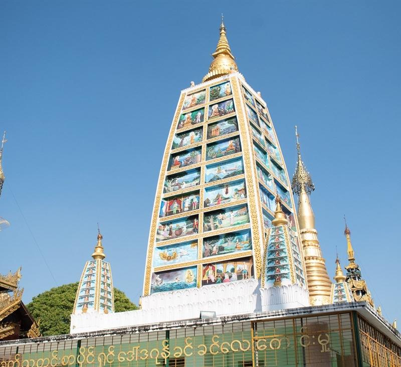 La puerta de entrada a Myanmar