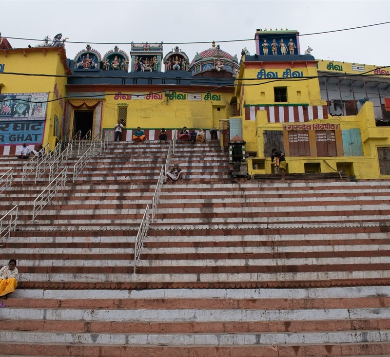 Varanasi, besando el Ganges
