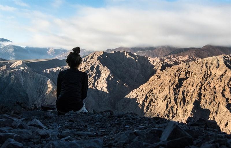 Salta y sus cerros mágicos: el Gólgota