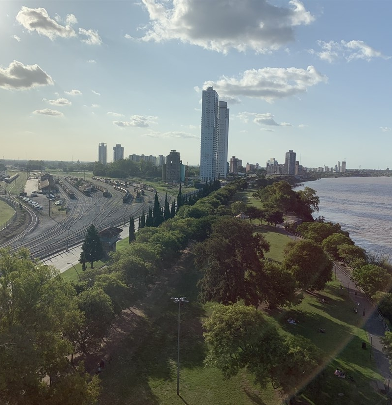Rosario, a orillas del Paraná